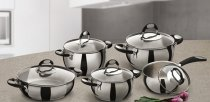 Belly pot stainless steel induction Colection